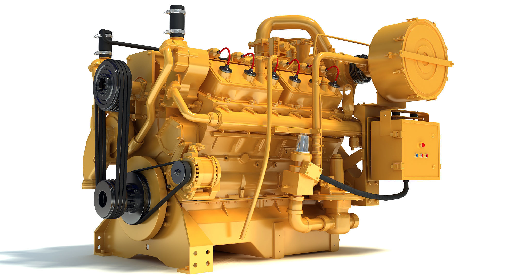 Generator  Industrial Engine