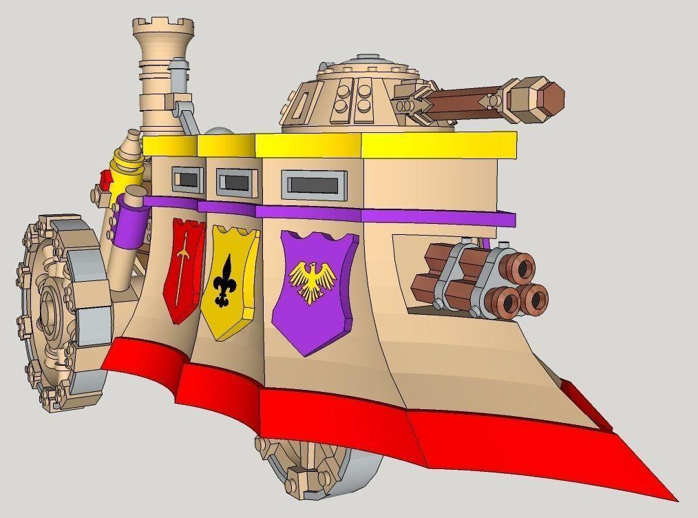 10mm Imperious Tri-Gun Steam-Tank
