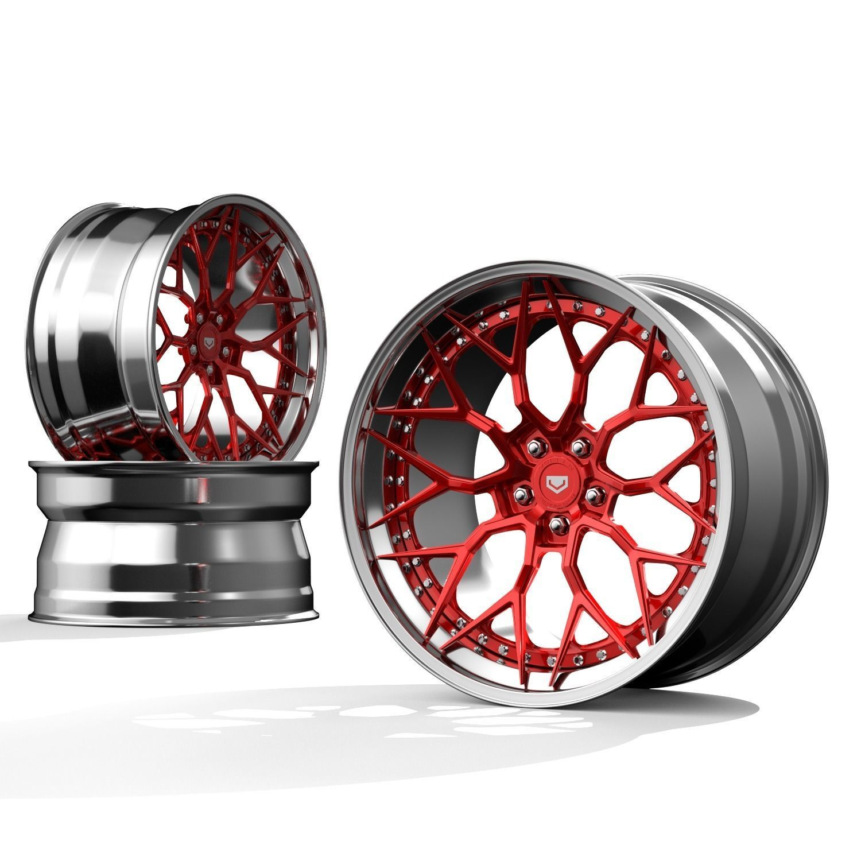 Vossen S-17   3 piece wheels