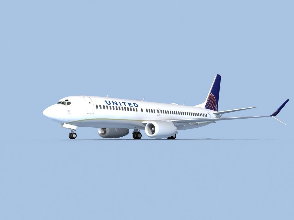 Boeing 737-800 Max United Airlines