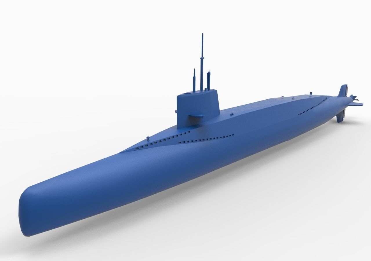 French submarine Redoutable S611