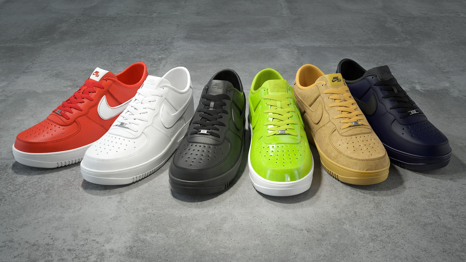 Nike Air Force 1 low collection
