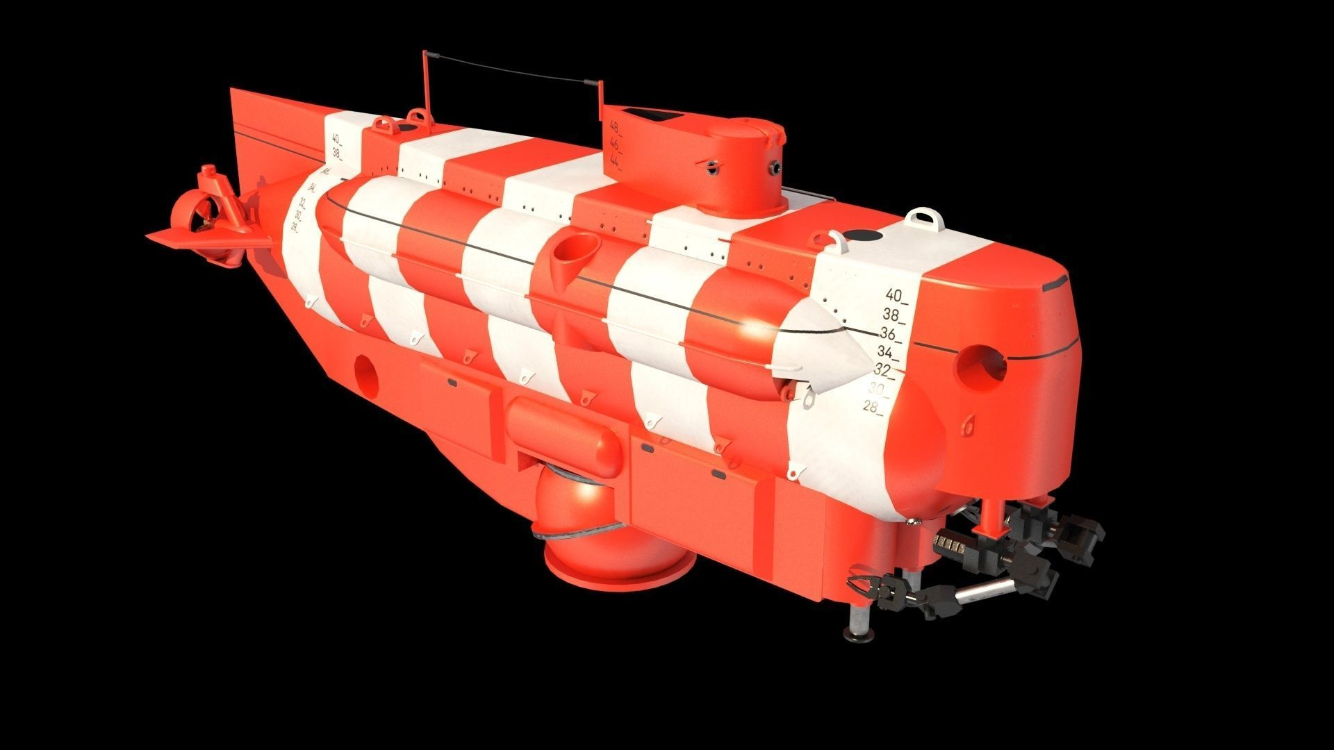 As 40 Bester Deep-submergence rescue vehicle