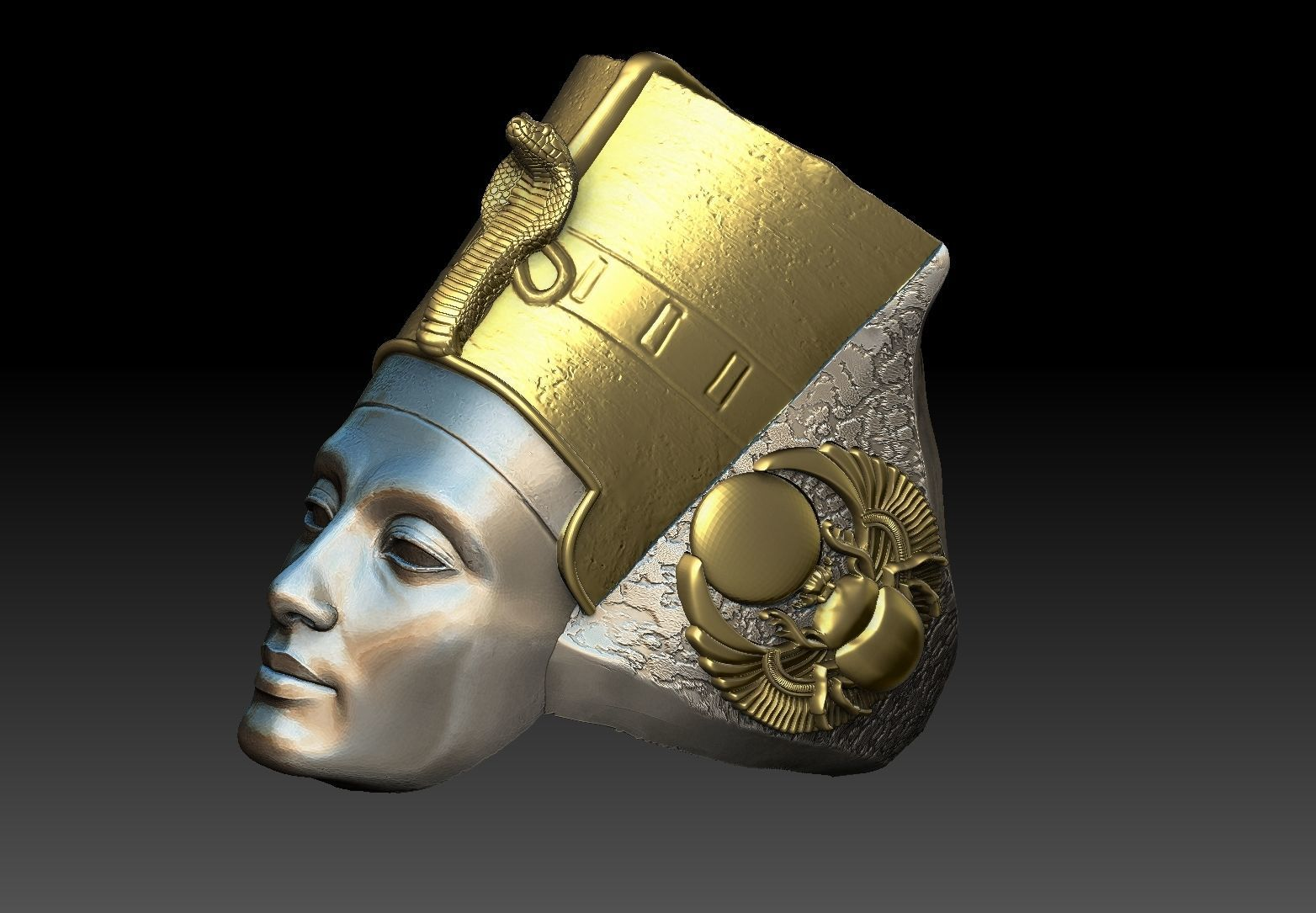 Egyptian Queen Nefertiti ring