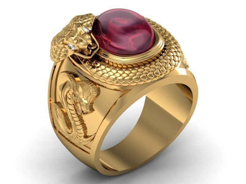 ring ruby corba 3D Model 3D printable STL 3DM