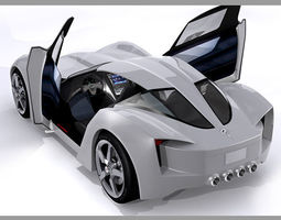 Chevrolet Corvette C7 Stingray Concept 3D