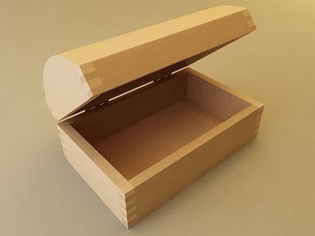 jewelry box 3d model max 3ds fbx stl unitypackage prefab 1