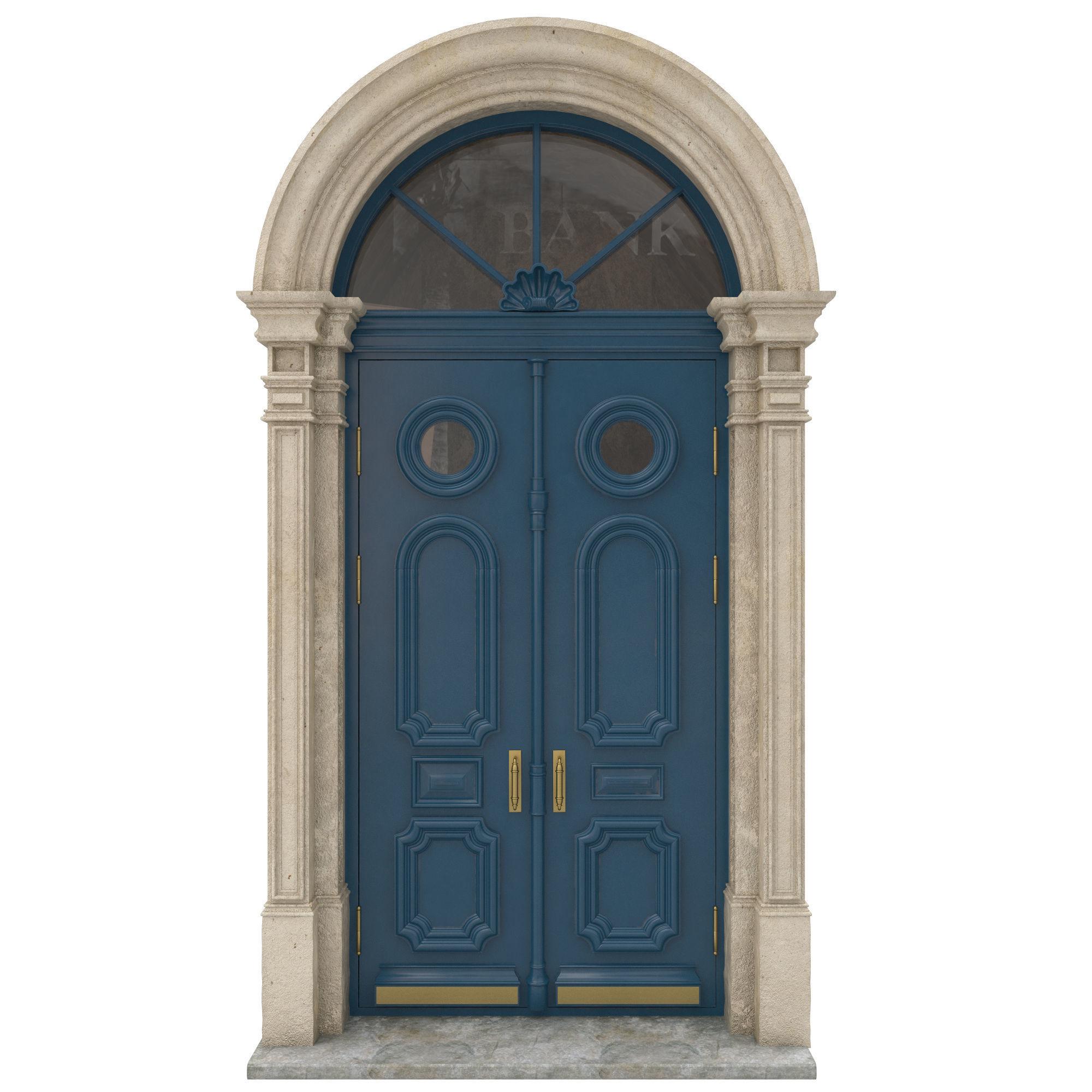 Entrance classic door 22