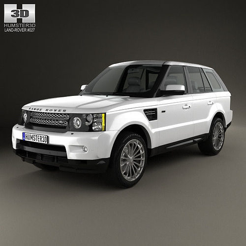 Land Rover Sport Used: 3D Model Land Rover Range Rover Sport 2009