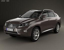 3d lexus rx 2012