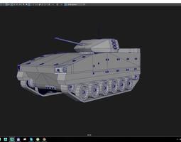 bionix low-poly 3d model