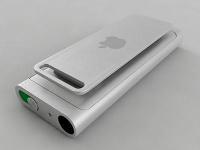 3rd generation ipod shuffle  3d model max obj mtl 3ds fbx stl wrl wrz 1