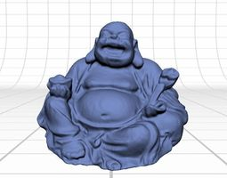 Laughing Buddha Figurine 3D model