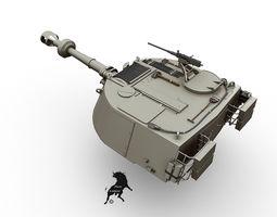 3D model M-109 G Turret