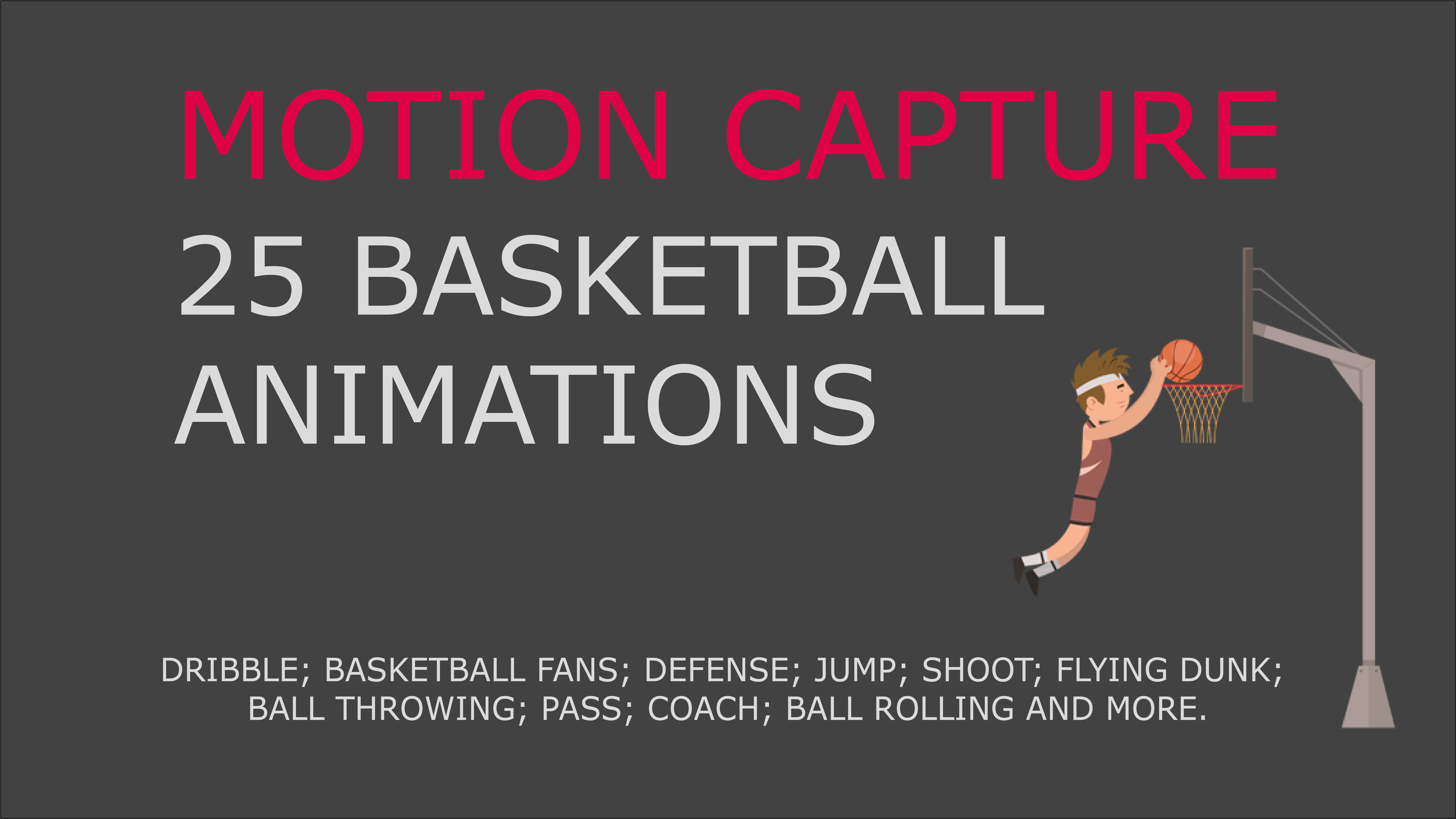 Basketball motion capture