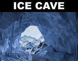 3D asset Ice cave