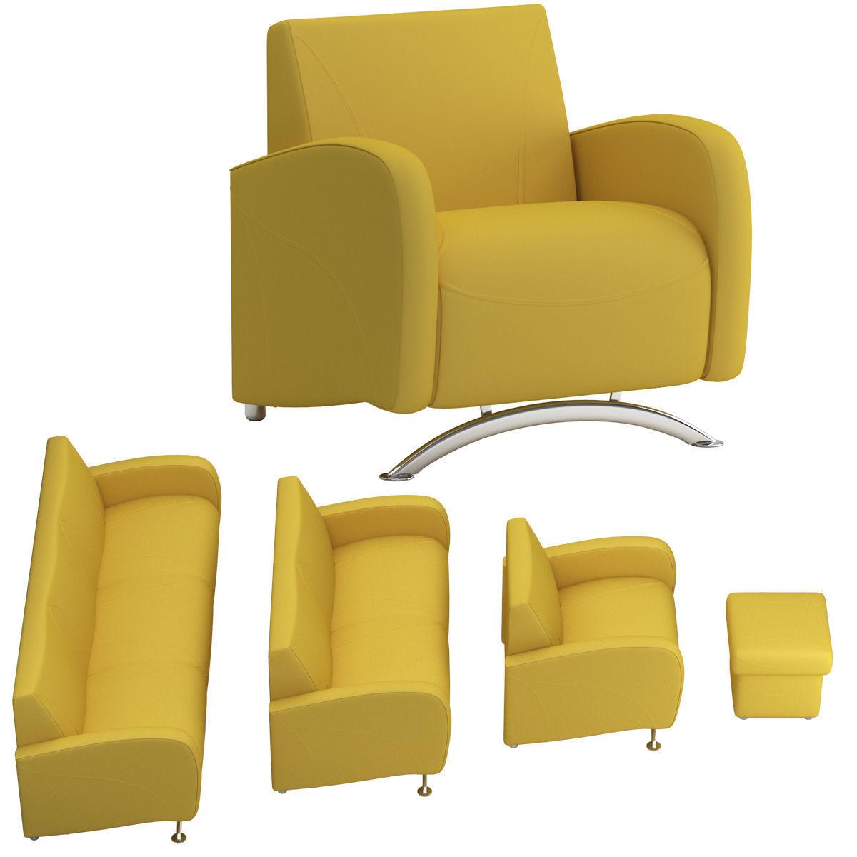 3D model sofa set 13 | CGTrader