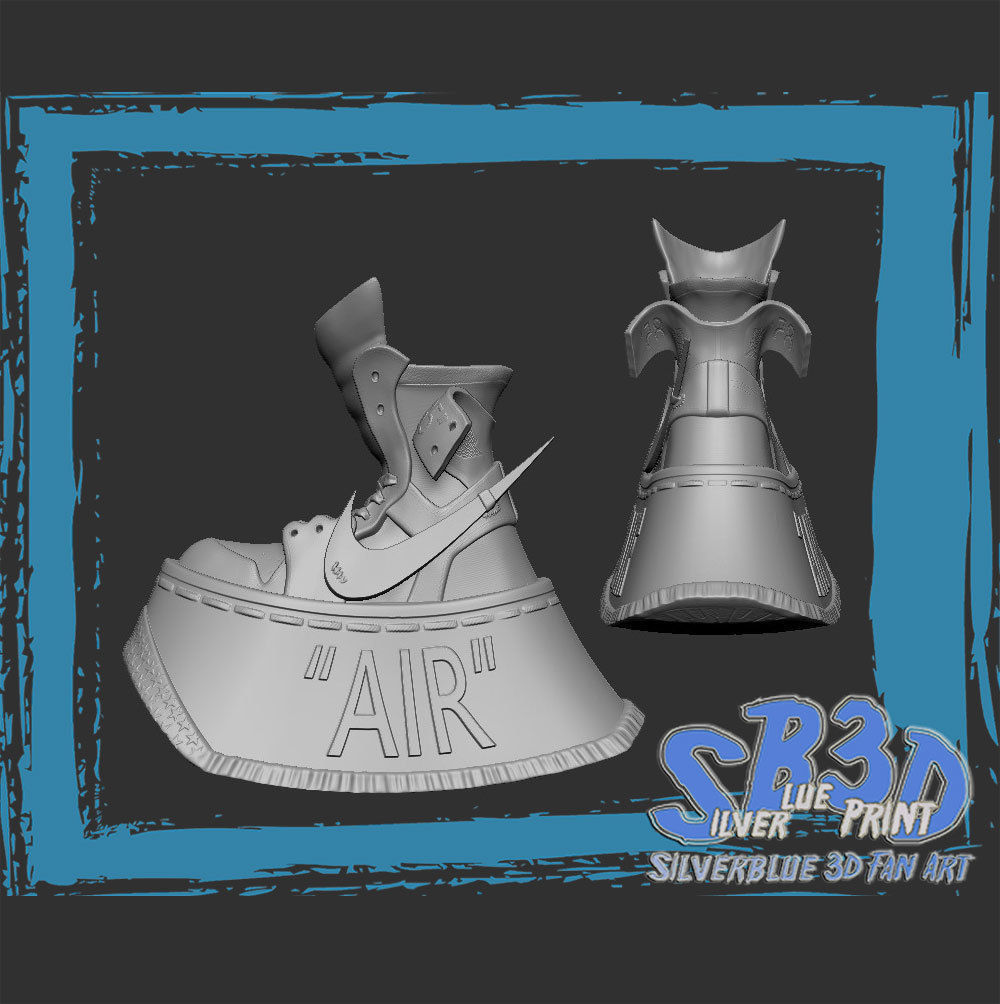 Nike Air Jordan 1 off white          Two versions