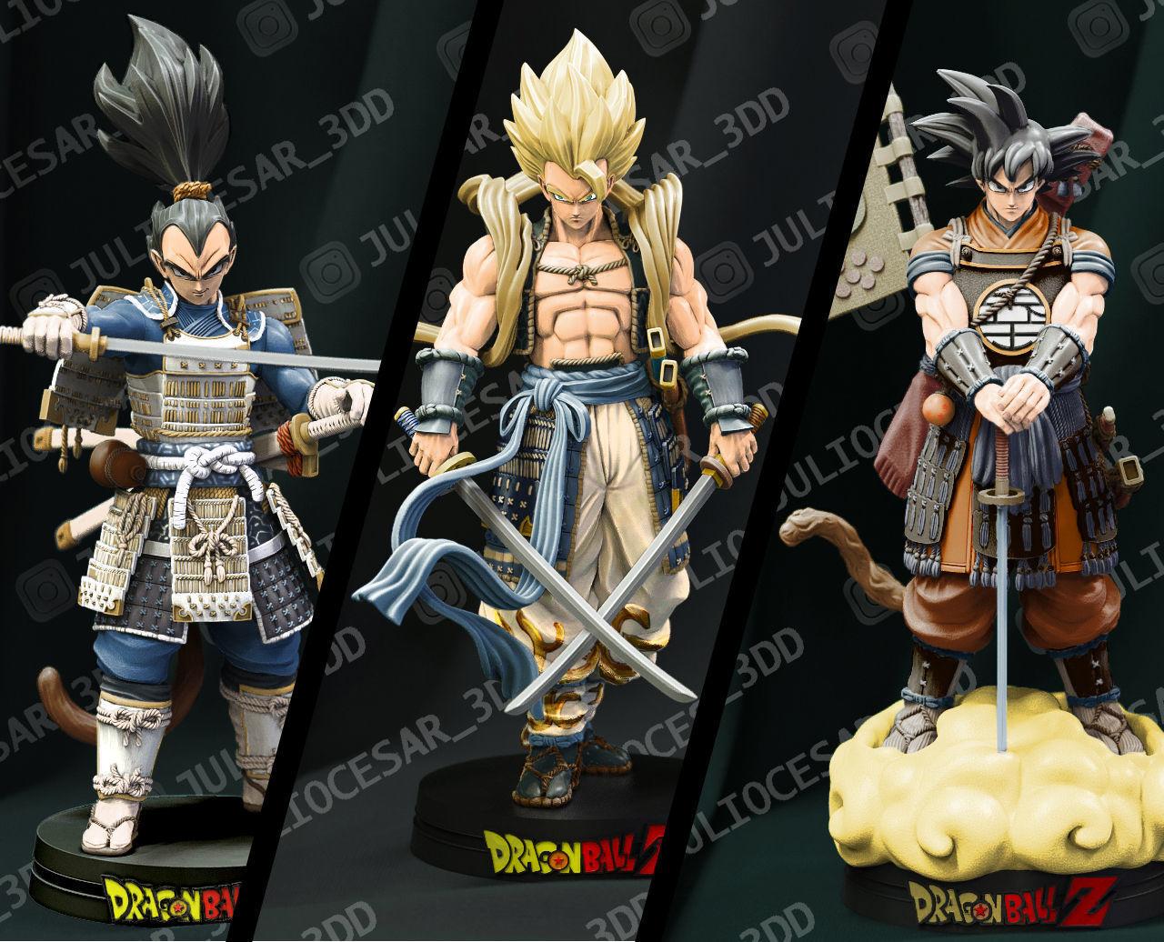 Dragon ball Shogun - Pack 3 heroes