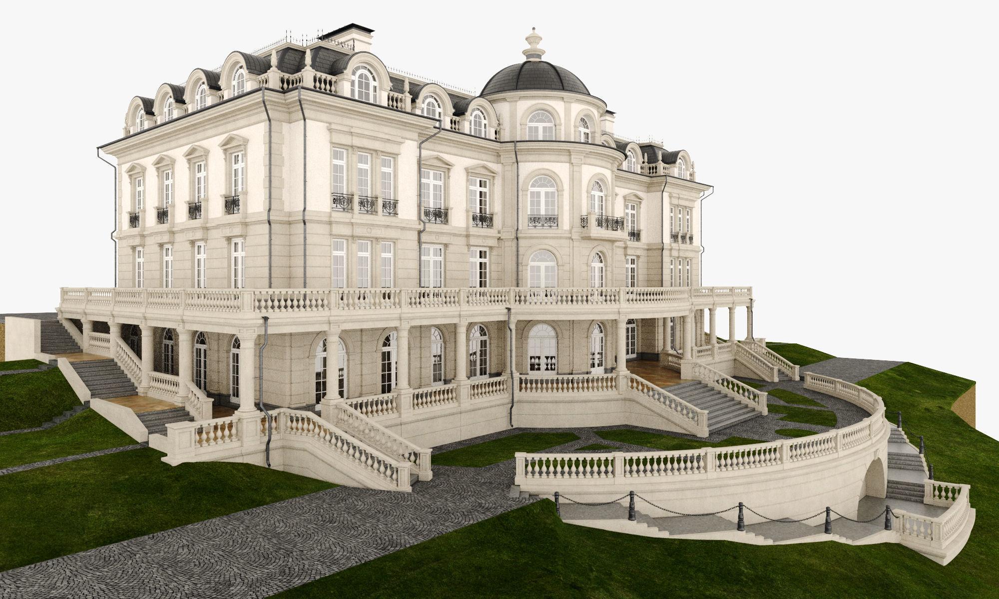 Classic Manor Villa