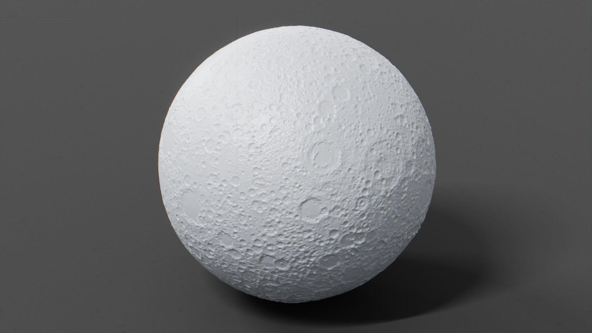 3D Moon