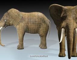 3D asset Elephant
