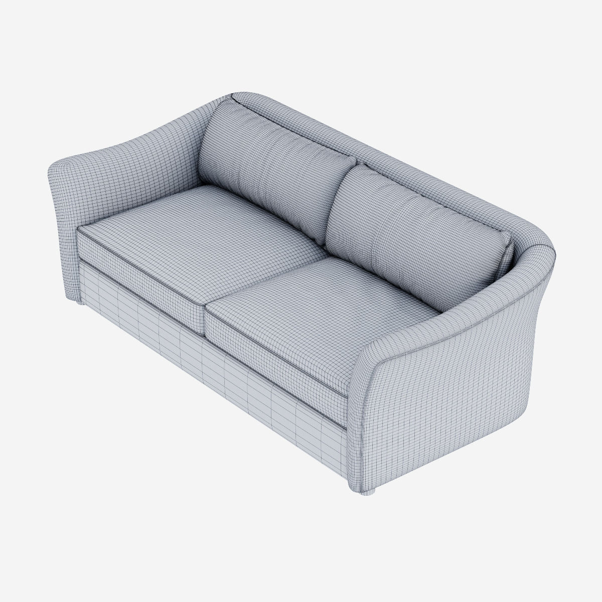West Elm Delaney Sofa Model Max Obj Mtl Fbx 6