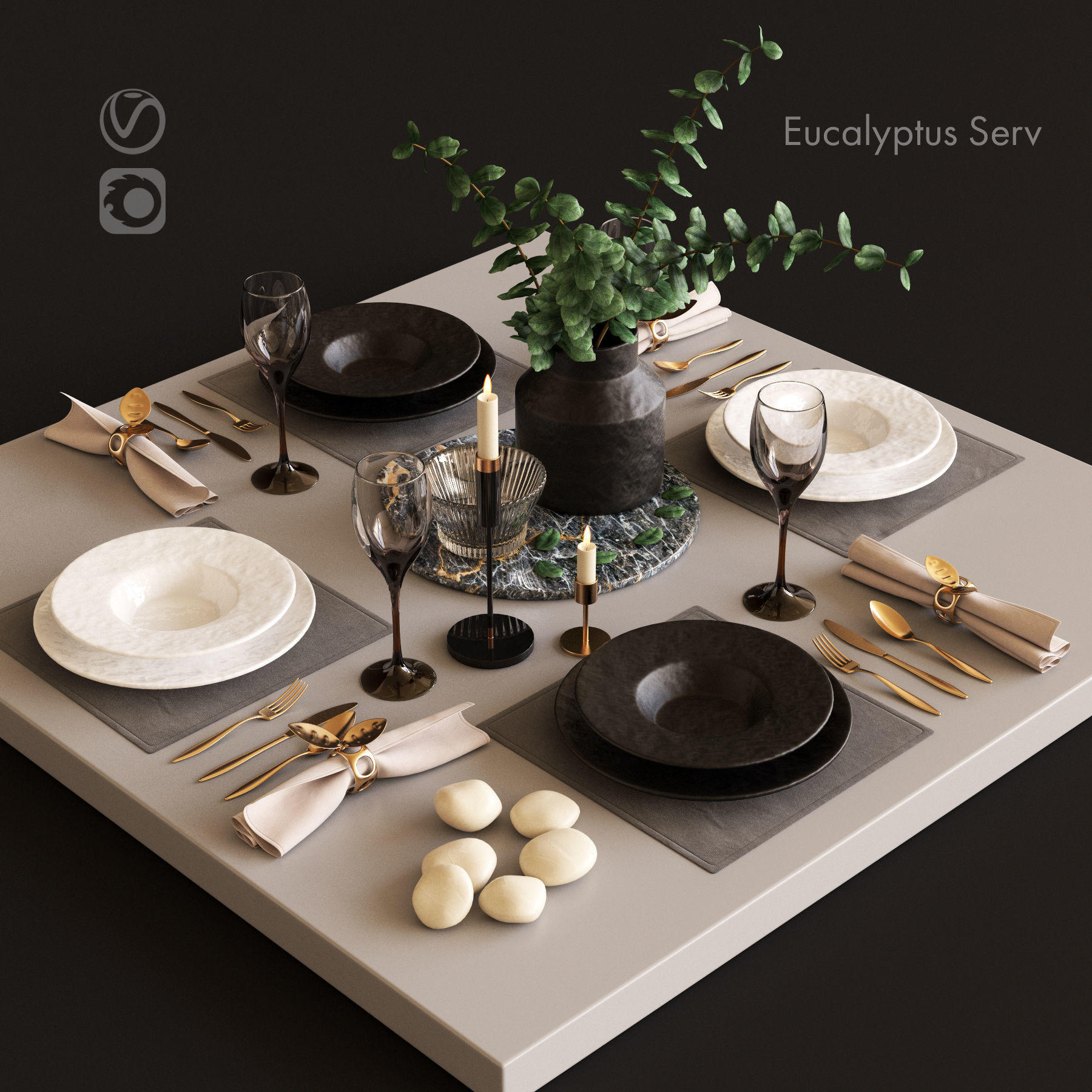 Serving with Eucalyptus