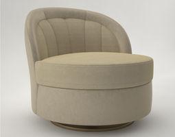 3D model Pro - Chair Bentley Ashley