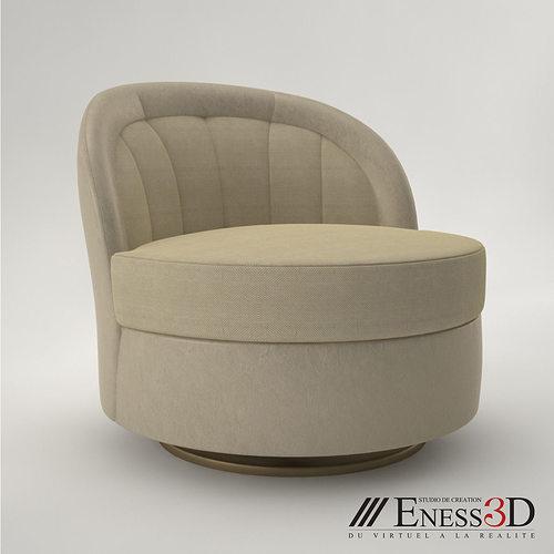 Pro   Chair Bentley Ashley 3D Model