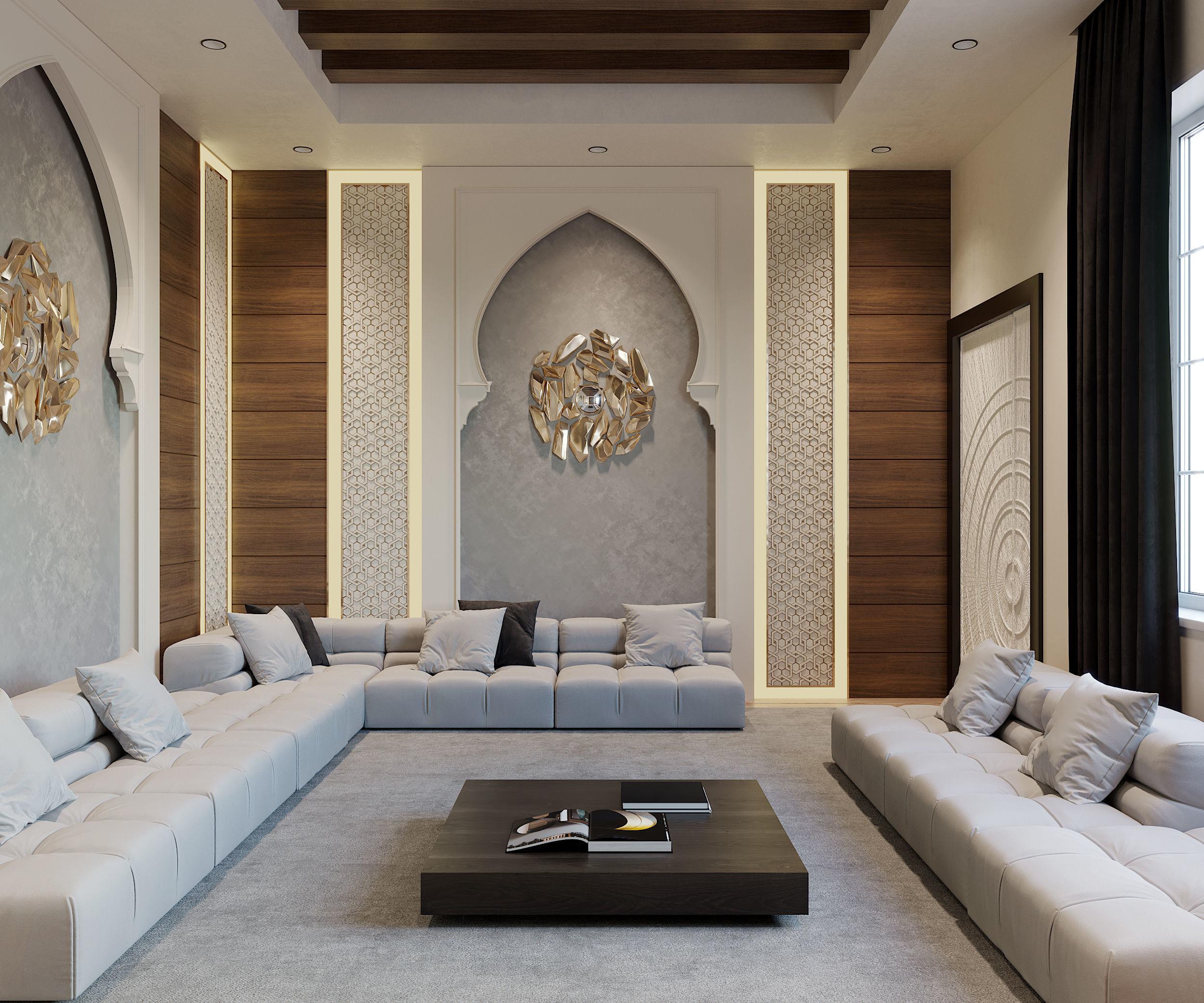 Modern Islamic Living Room 3d Cgtrader