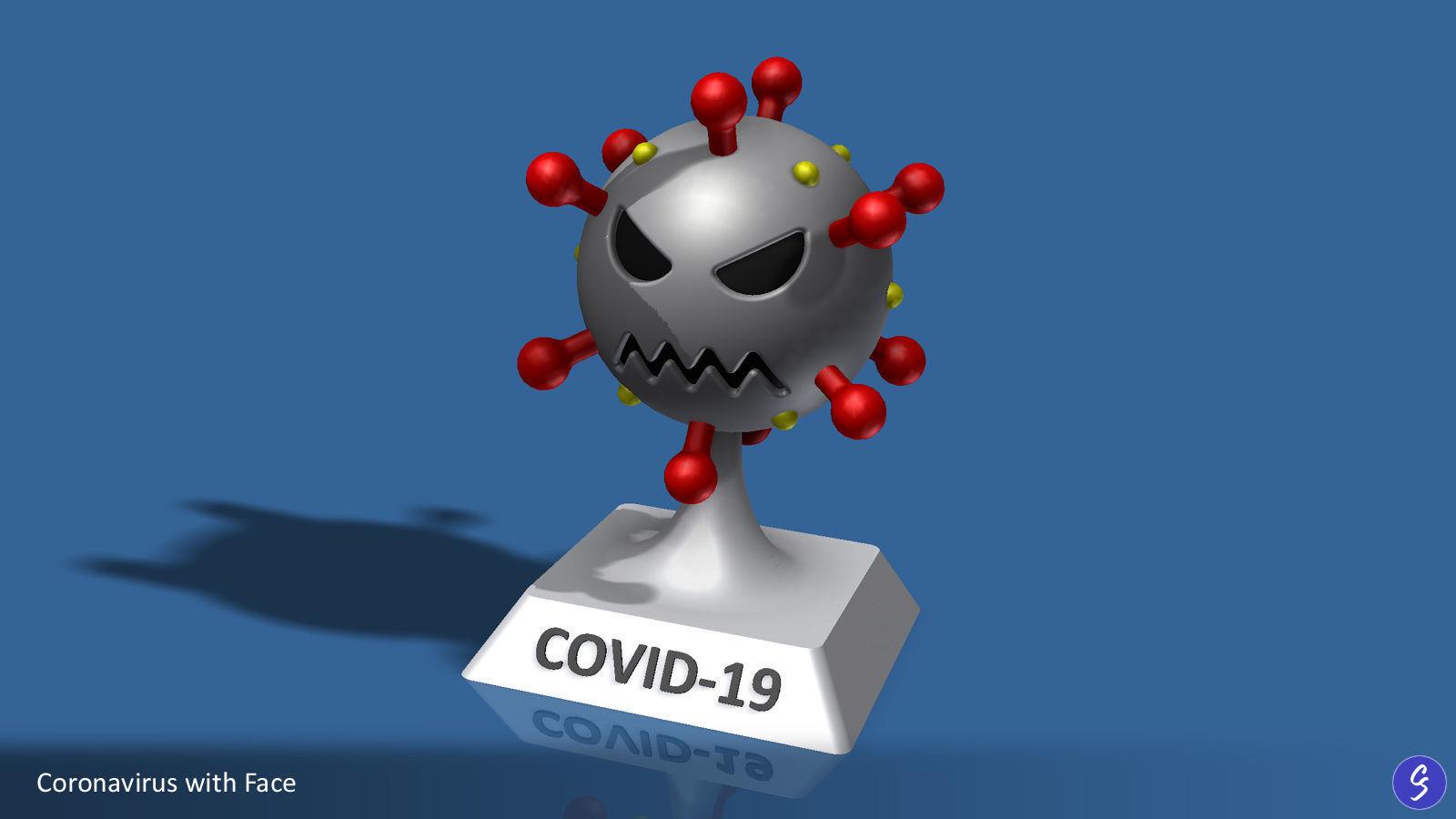 Novel Coronavirus COVID-19 Cartoon