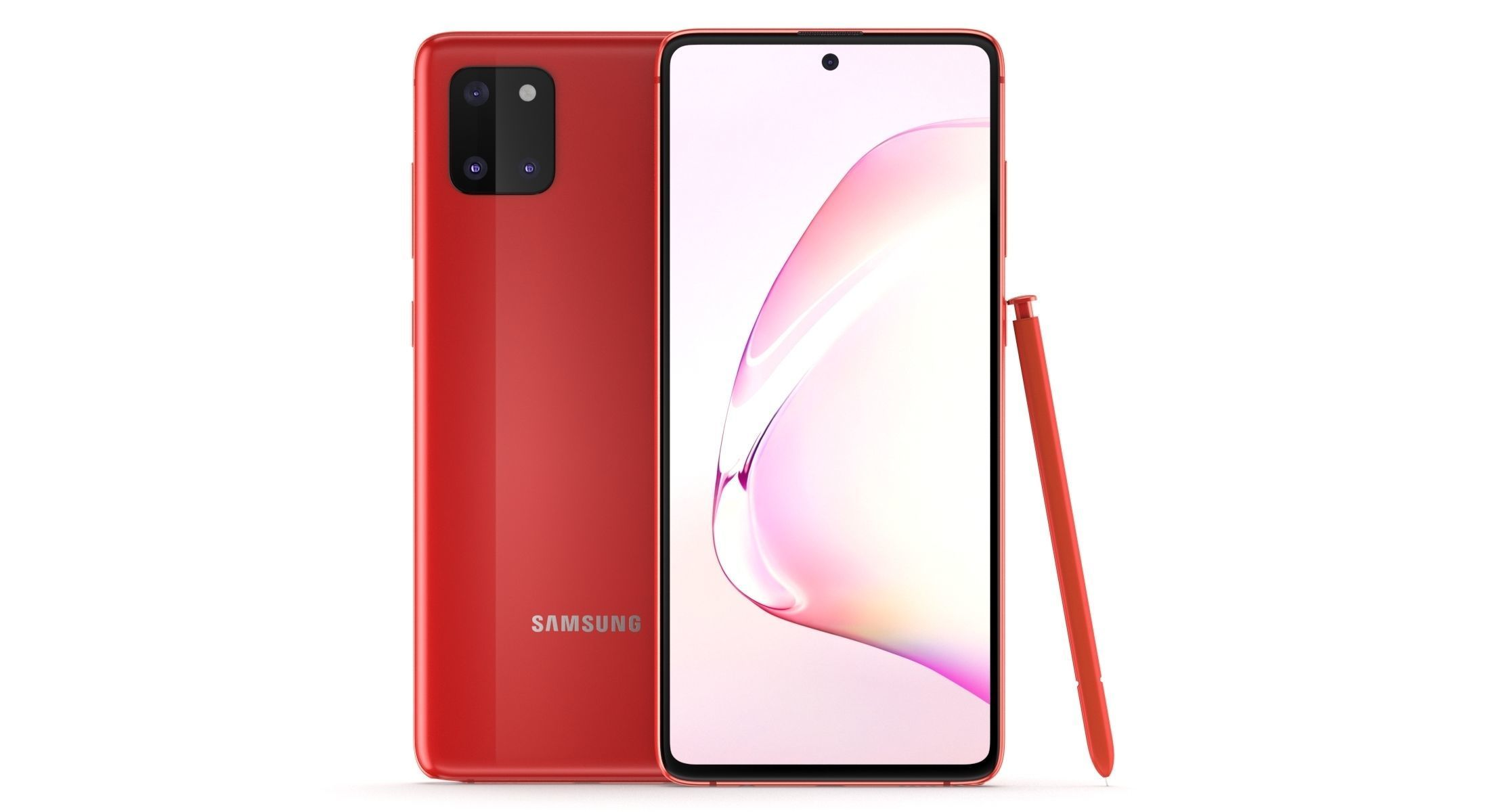 Samsung Galaxy Note 10 Lite Aura Red