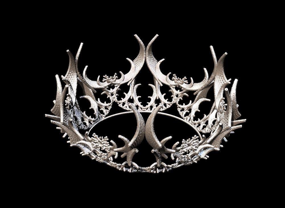 Crown  3D model stl format file