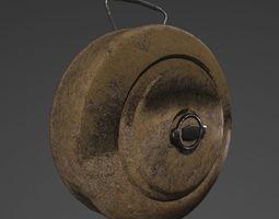 3D asset m15 landmine