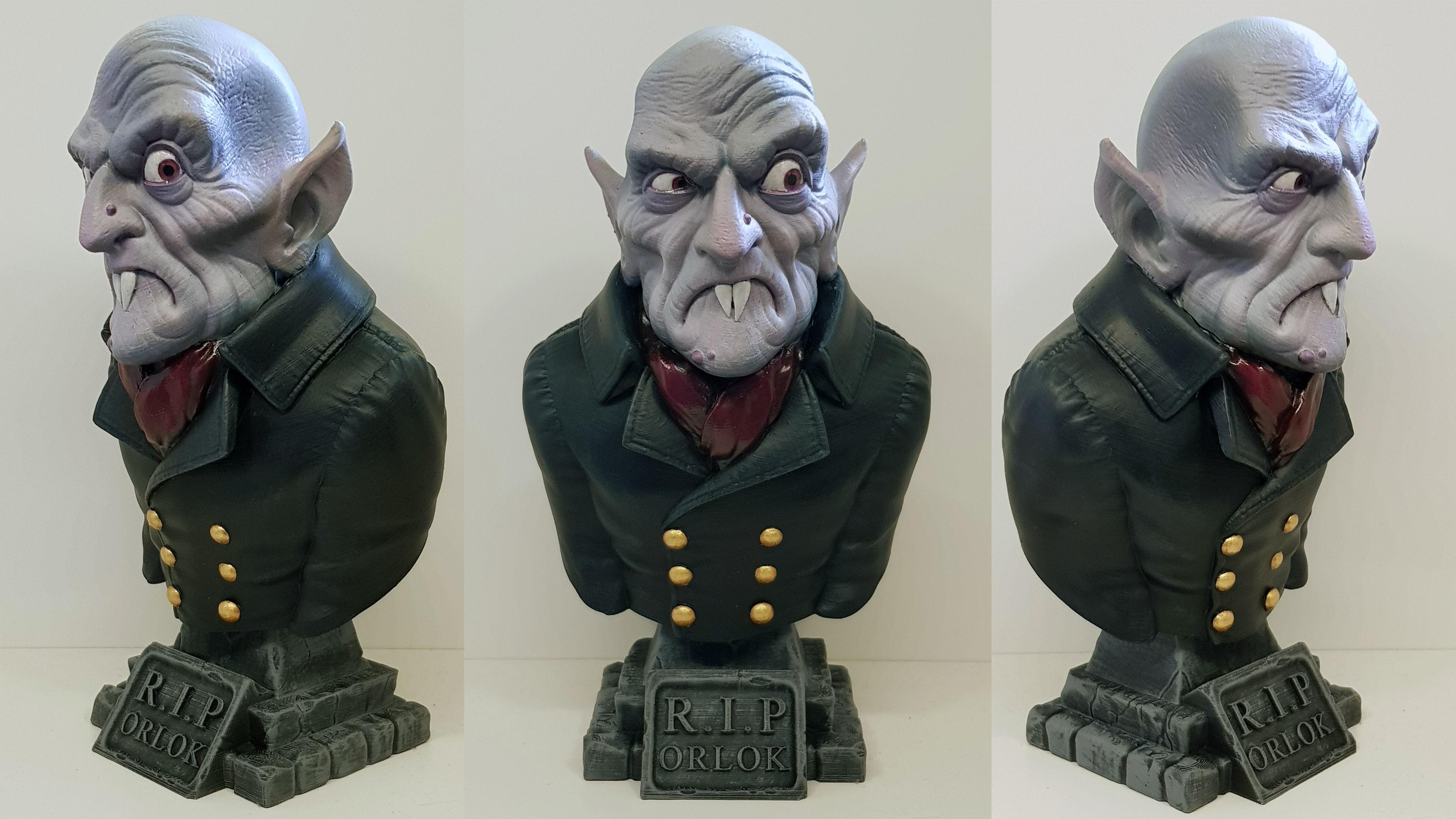 Count Orlok Bust