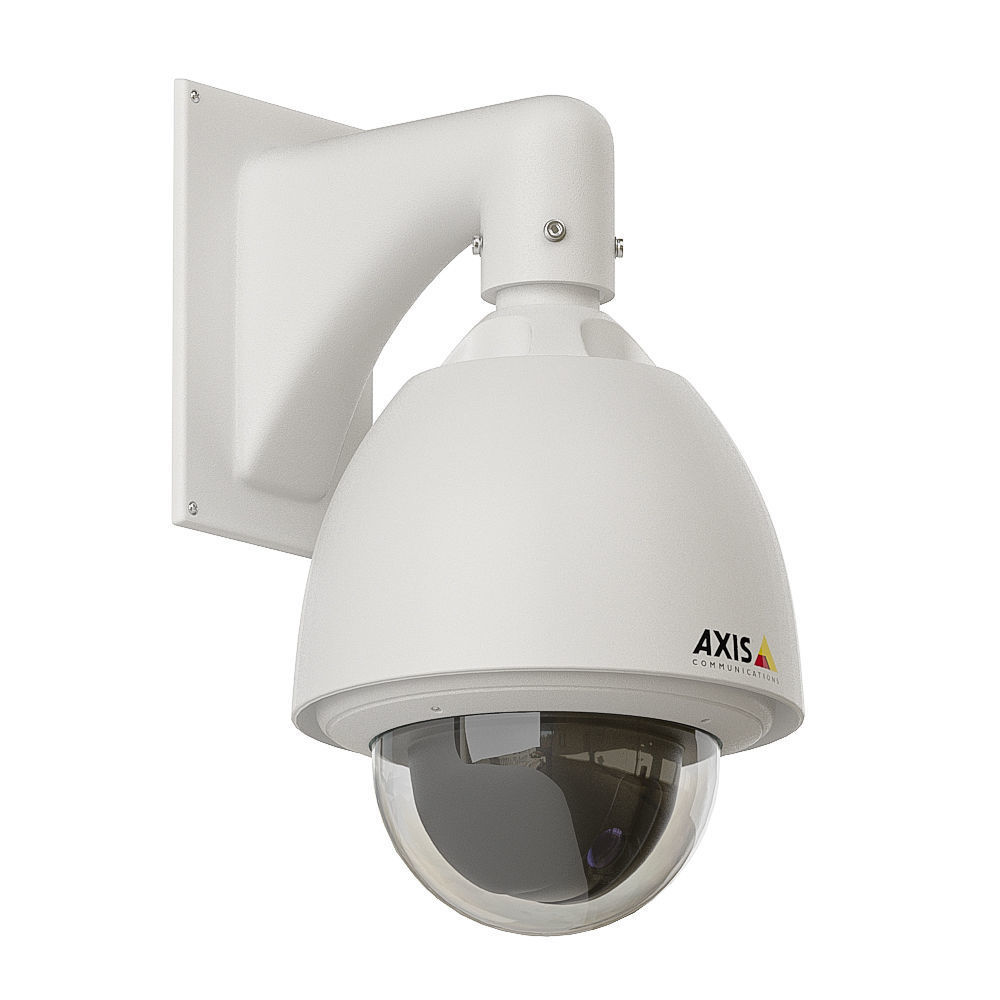 Dome security camera 3D model