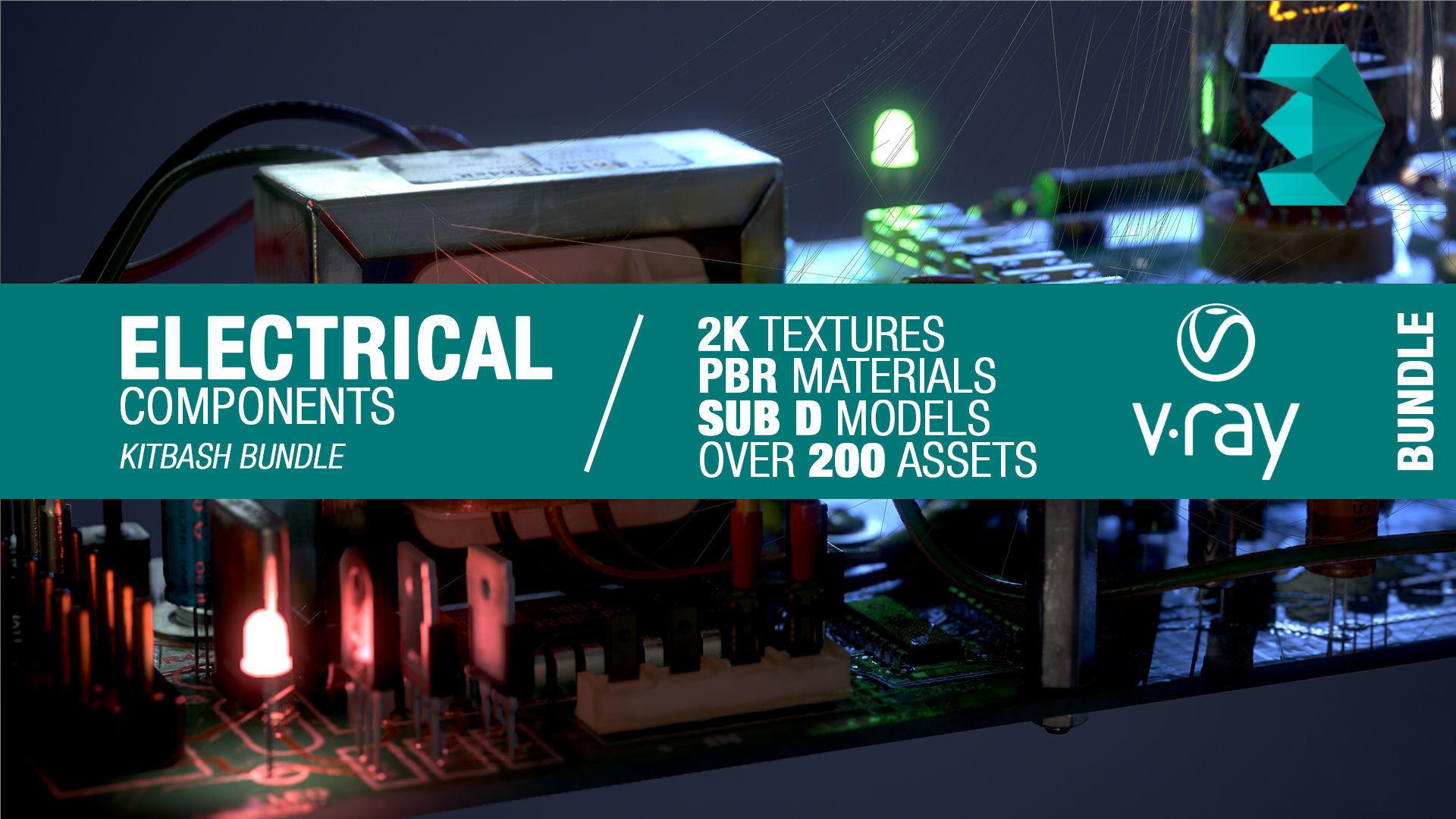 Electrical components bundle