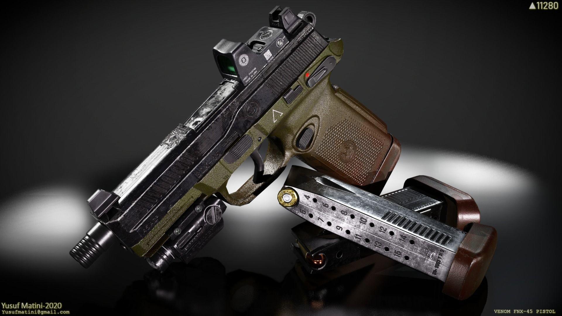 FNX-45 Venom Pistol