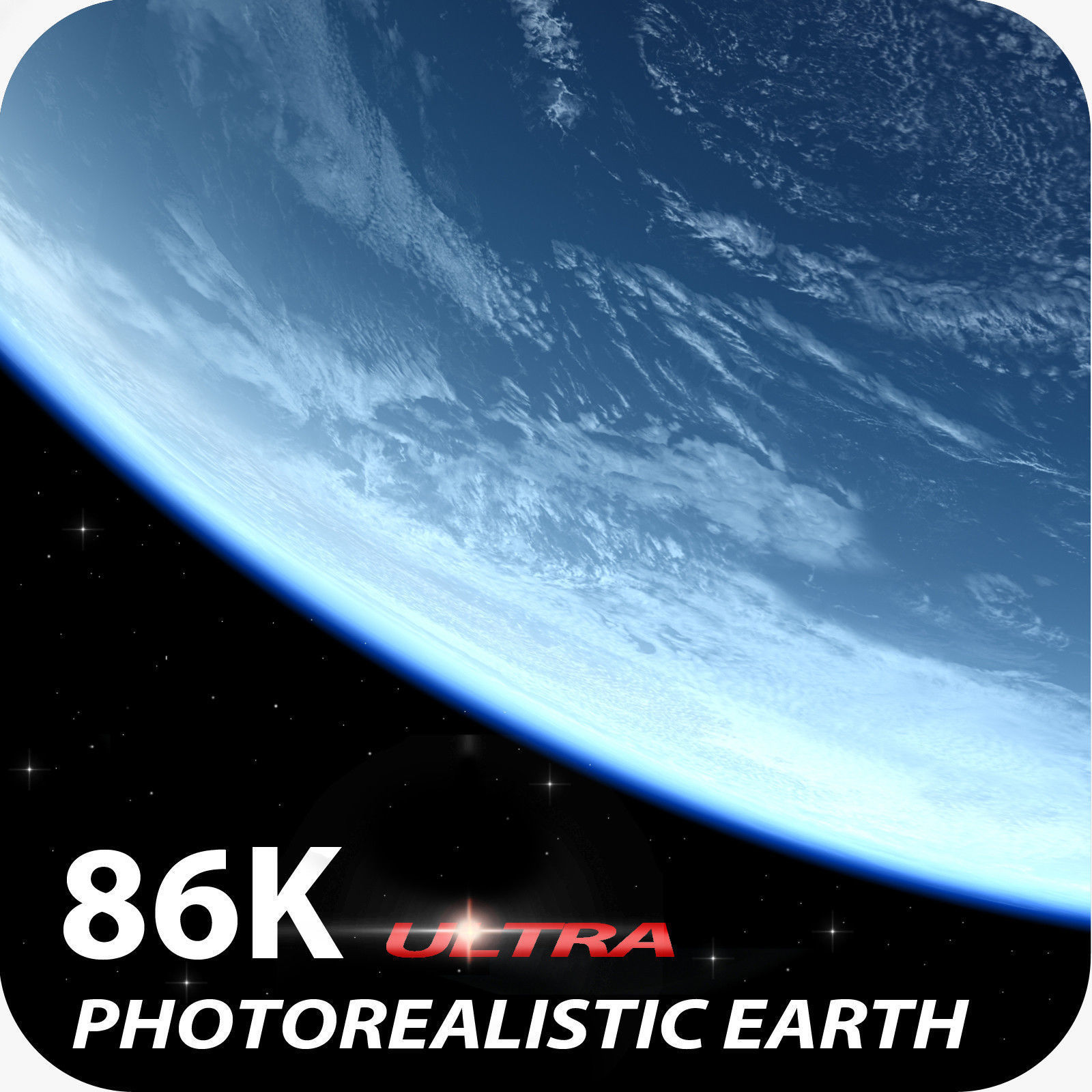86K Photorealistic Earth
