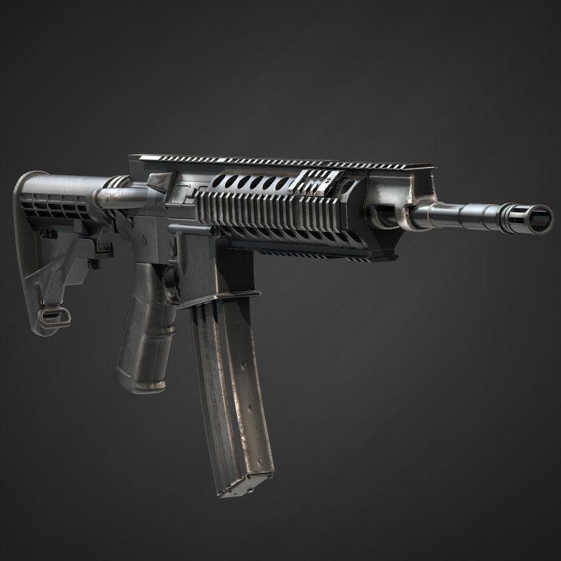 Barret Rec7 Assault Rifle