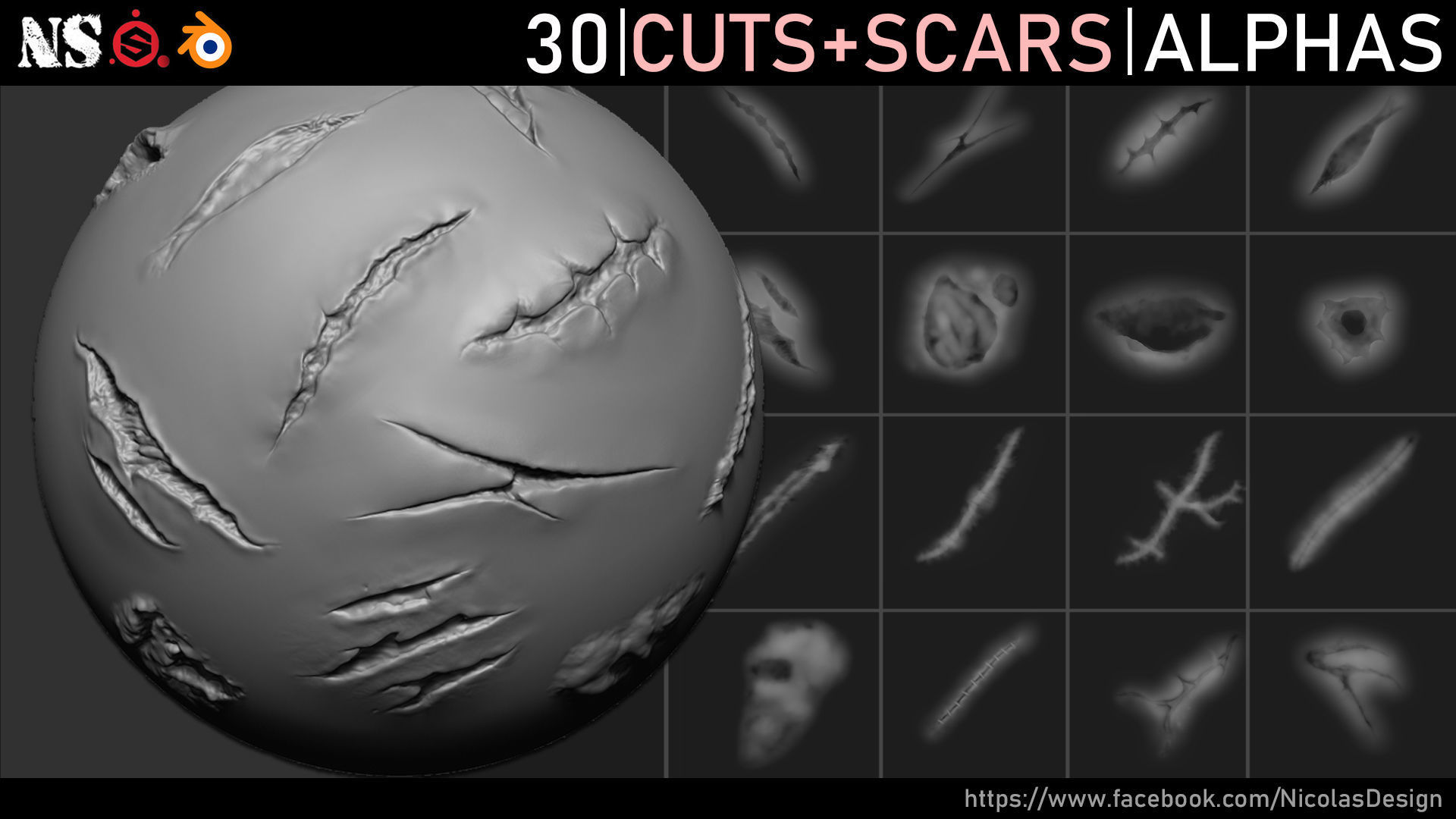 Cuts and Scars Alphas