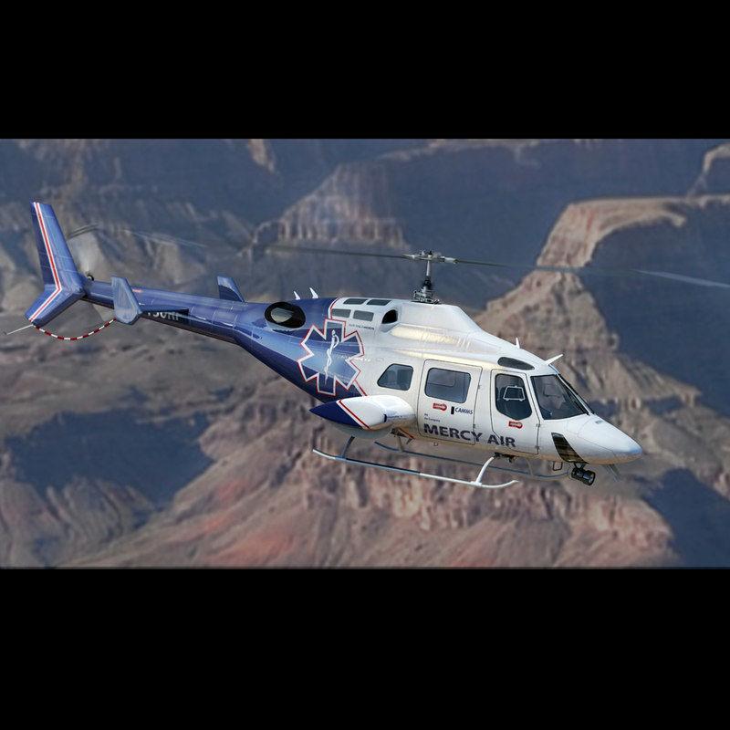 Bell 222 Mercy Air