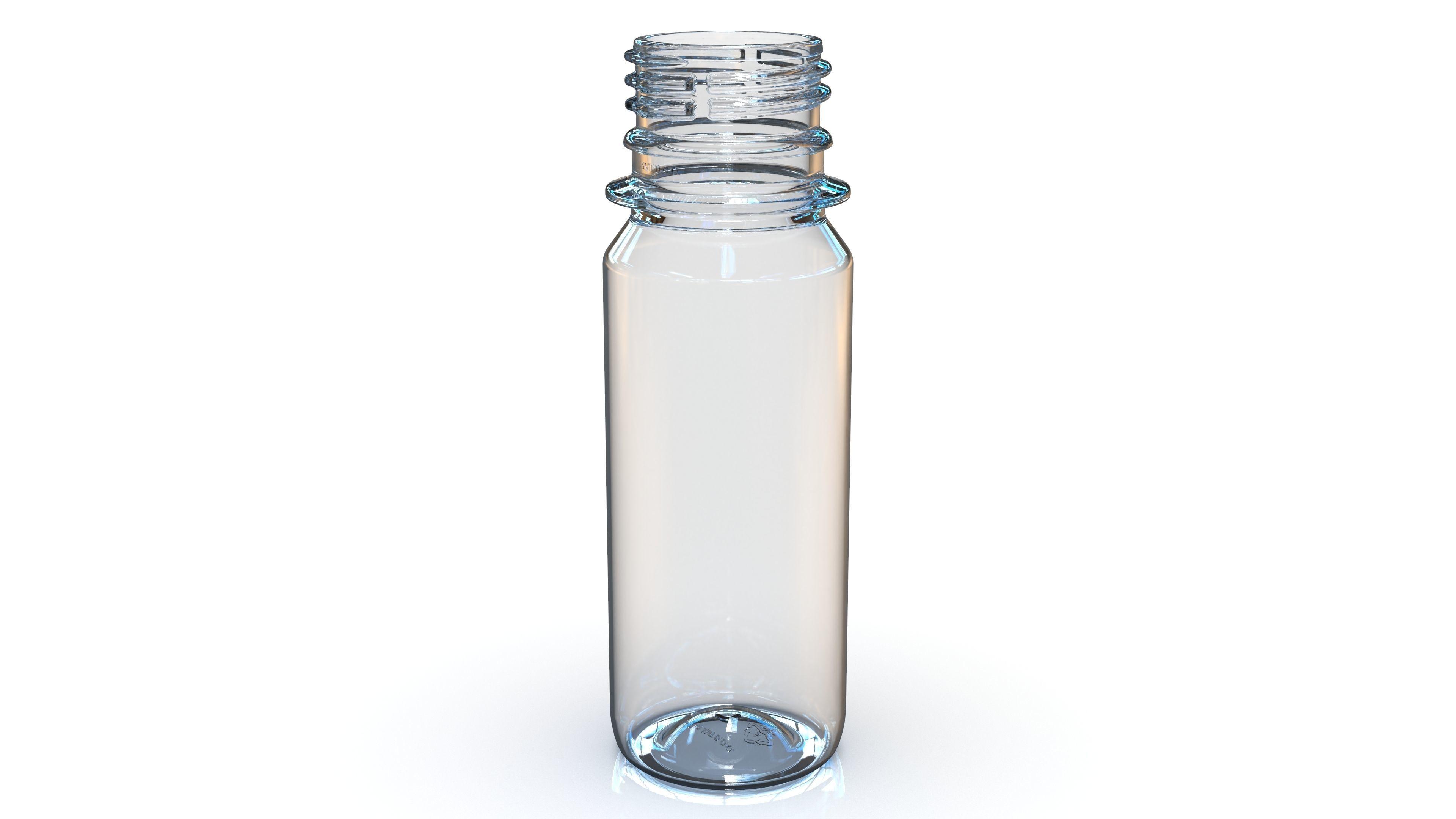 PET Bottle PCO - 1810 - 28 mm 60 mL - for water - drinks - etc