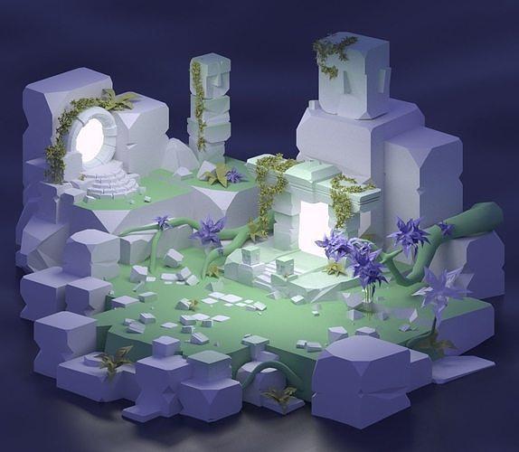 Ancient Portals - Ancient environment PART2