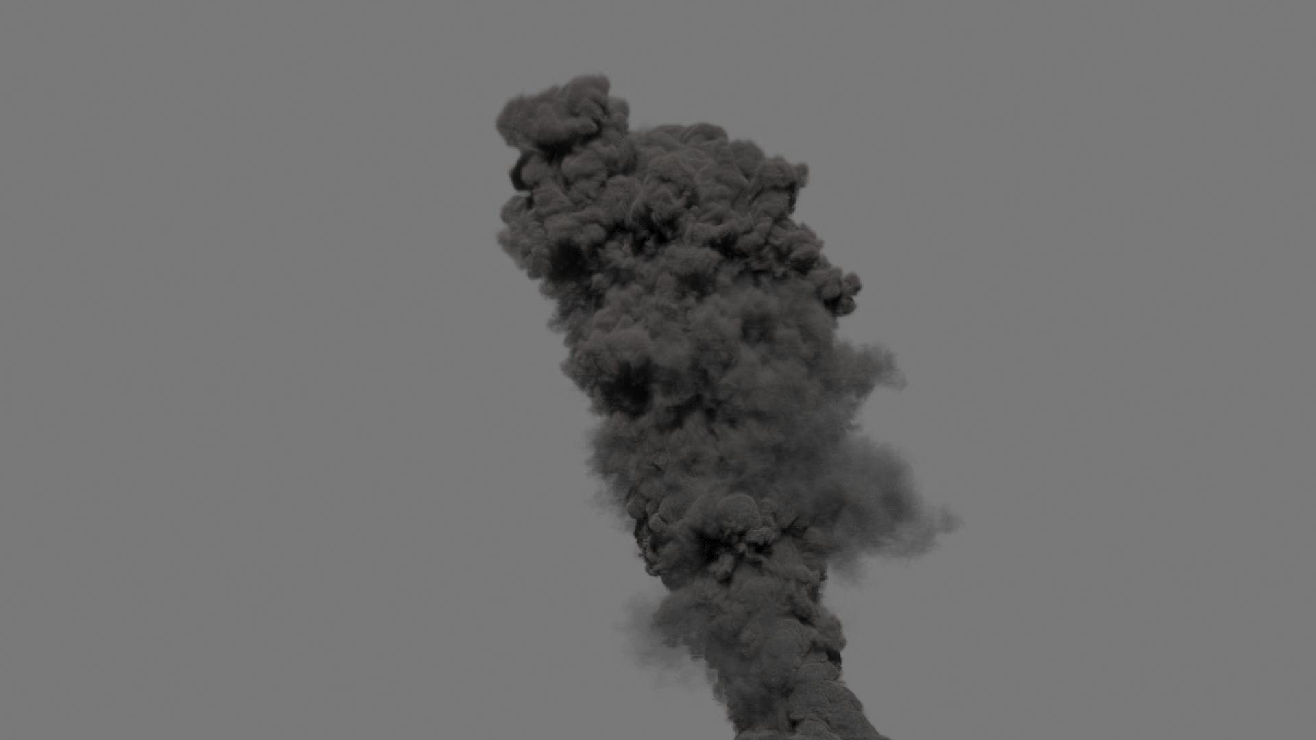 Smoke Plume 02 - VDB - LargeScale