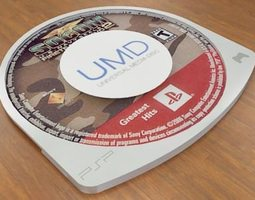 universal media disc 3d model max obj 3ds stl wrl wrz