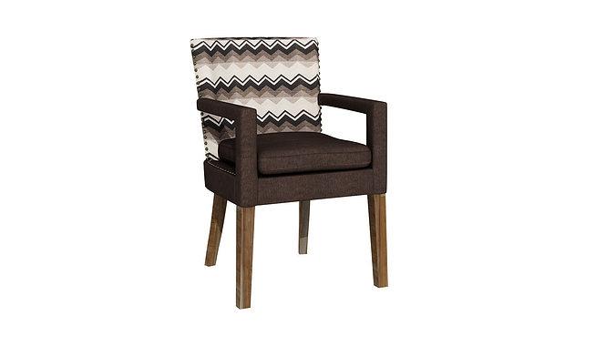 soft chair 230 3d model max 1