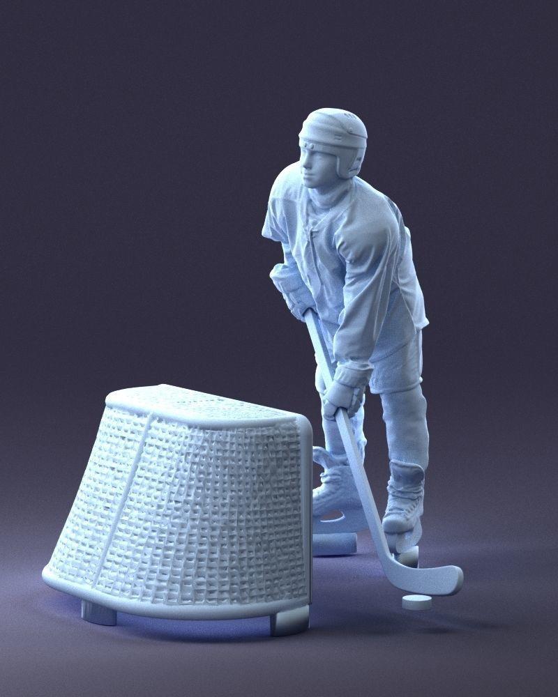 Hockey player 1014 3D Print Ready