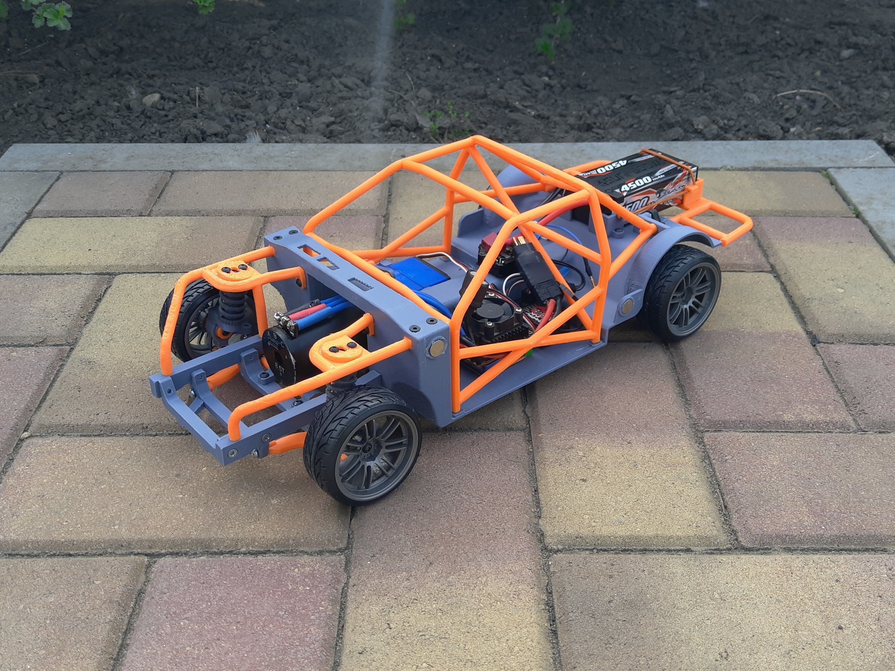 1-10 RC Drift Chassis